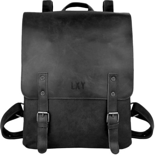 LXY Vegan Vintage Leather Backpack for Women
