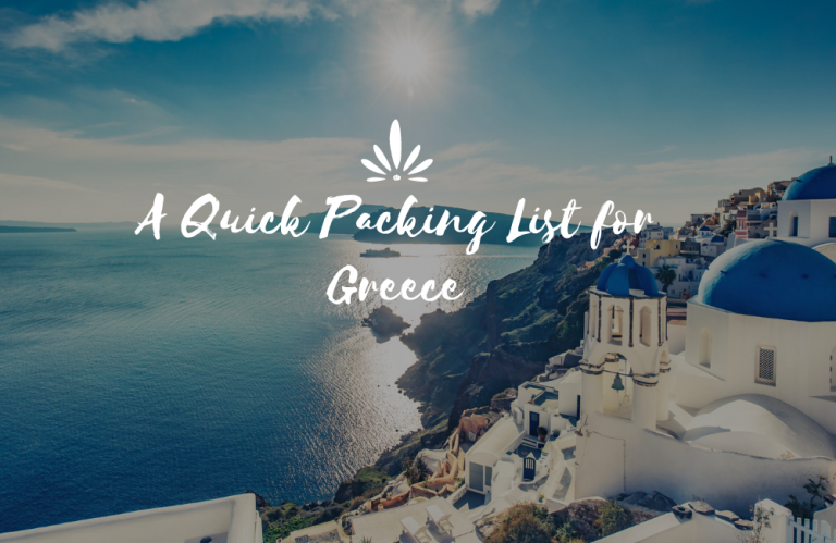 What to Pack for Greece?