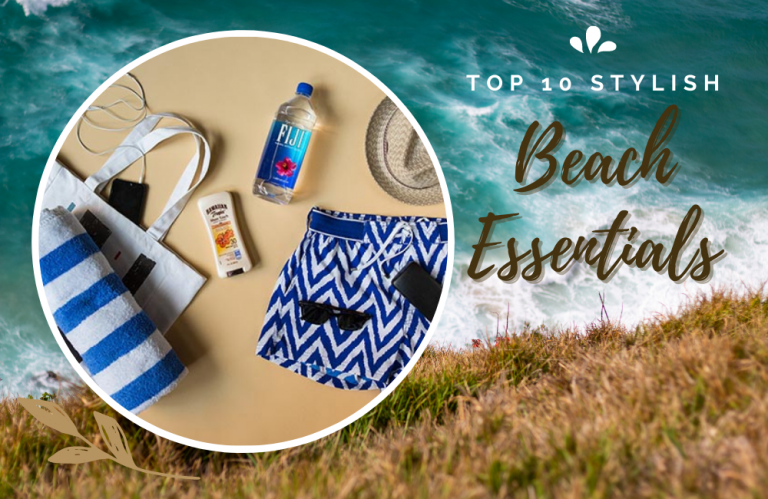 10 Must have items for the beach