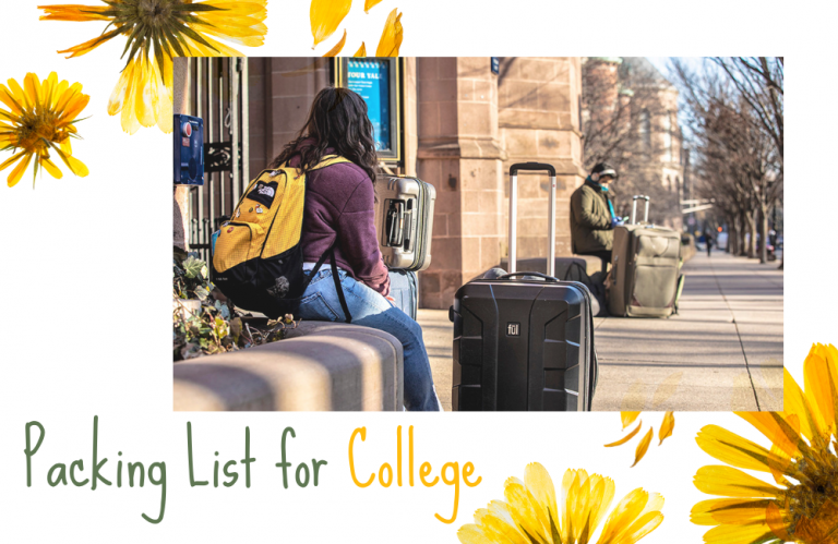 Packing List for College